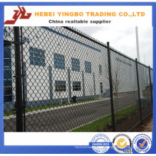 Yb-18 2016 New Cheap Price PVC Coated Green Color Chain Link Fence