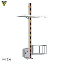 ibc bin lifting lifter material feeding conveying charging machine for pharmaceutical