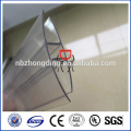 lexan u profiles for polycarbonate sheet/pc panel/pc sun sheet