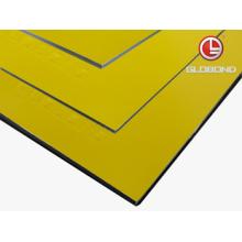 GLOBOND FR Panel compuesto de aluminio ignífugo (PF-432 amarillo)