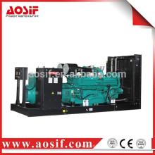 Precio del generador 1000KW / 1250 KVA con cummins KTA50-G3