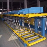 Motor Power 2.2 Kw Automatic Stacking Machine 6m / 12m With Pneumatic Device Electric Control System