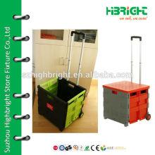 plastic foldable cart boxes
