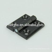 Dobradiça de extremidade de nylon preto RH-185A