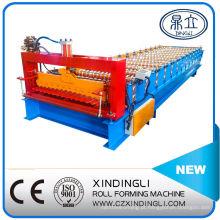 Máquina Formadora de Rolos para Telhado de Chapa Ondulada