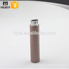 8ml 10ml 15ml 20ml twist up aluminium customized refillable perfume atomizers