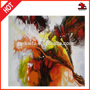 2015 new arrival high color abstract oil painting