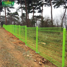 Powder Coat DD-Fence Roll Top BRC Mesh Fence