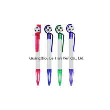 Football Push Plastic Ball Pen for Promotion Lt-L441