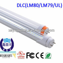 22W DLC 1200mm led tube light,led ellipse tube light,hot sale in 2013 suspended t8 led fluorescent tube lights