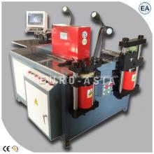 Máquina de barra colectora CNC con cizalla perforadora y doblado