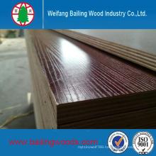 15mm Poplar Core Melamine Glue Okoume Commercial Plywood