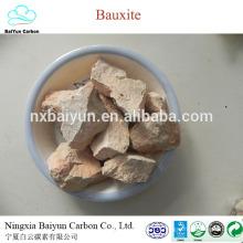 Chine fournir 75% calciné prix de la bauxite