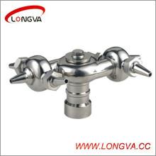 Boule de pulvérisation rotative boulonnée en acier inoxydable