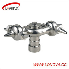 Stainless Steel Bolted Rotary Spray Ball