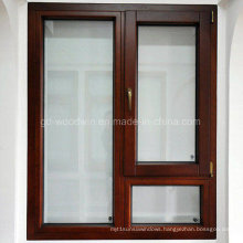 Luxury Aluminum Wood Casement Window/Swing Window/Tilt and Turn Window