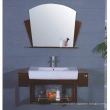 Mobília do armário de banheiro do MDF (B-119)