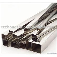 Material de Construção Acabamento Brilhante Tubo de aço para cercas de aço Posts instrução