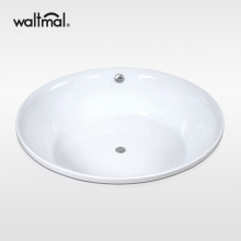 Big Round Drop-in Bath Tub in Acrylic