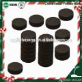 33 mm / 10 pcs * 10 rolos rodada hookah carvão para shisha