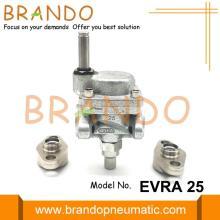 Válvula solenoide de amoníaco servoaccionada EVRA 25