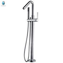 Einfache Badezimmer Stil Badewanne Füller freistehende Badewanne Wasserhahn Mischer