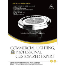 Modelo privado 12.5W LED AR111 luz de pista con regulable (LS-S012-G53)