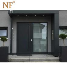 NF Aluminum Metal Stainless steel Main Doors Enter Front Doors