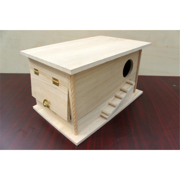 Protección del medio ambiente natural Big Bird House de madera