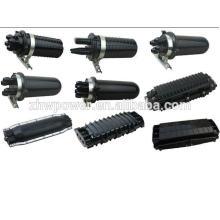 Type de dôme de fermeture d'articulation en fibre optique et ordre d'accueil de type horizontal