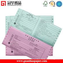 Office Perforated Custom Carbonless Paper