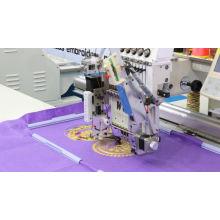 Máquinas de bordar Wy-1201c (Flat + Sequin + Taping + chenille simple + Cording)