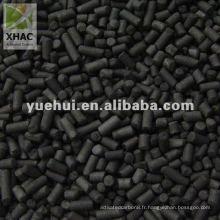 charbon actif colonnaire pour la récupération du solvant