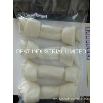China Manufacturer Rawhide Dog Chews Bone Porkhide Knotted Bone