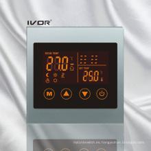 Termóstato de calefacción por suelo radiante Marco táctil de acrílico (SK-HV100L8-L / M)