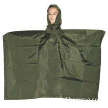Military Army Waterproof Rainwear Rain Coat Poncho (RS05-01A)
