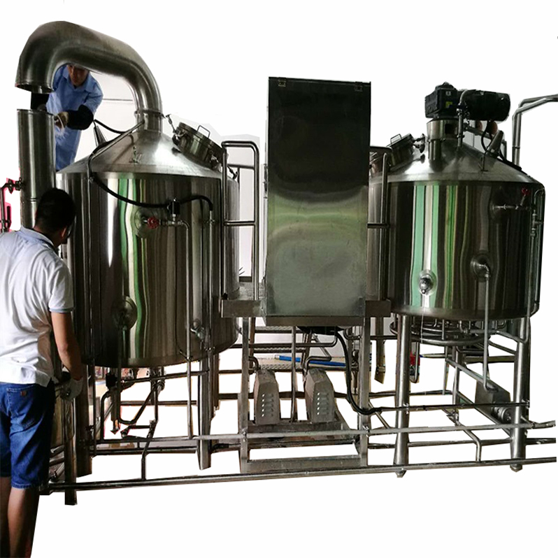 two vessel brewhouse american type