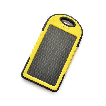 New Waterproof Solar Power Bank 4000mAh