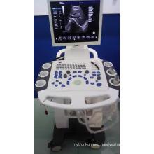 2D/3D/4D Trolley Cheapest Color Doppler Ultrasound Machine