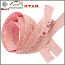 Zipper plástico para las tiendas para la venta