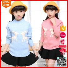New design fashion knitted woolen jumper kids