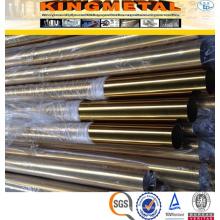 Preço da tubulação do titânio sem emenda de ASTM B338 Gr2