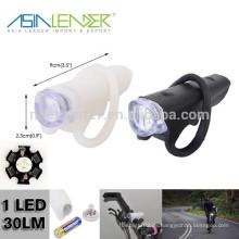 1 * AA Batterie-Spg.Versorgungsteil 100% helles und grelles Silikon-Fahrrad-Licht