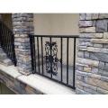 Garden Security No Welding Galvanized Steel Bronze-Coloured Tubular Ornamental Fence