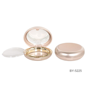 Noble Gold Compact Powder Case With Mirror