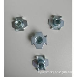 Carbon steel  ZP T Nuts M6x15