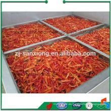 Secador de aire caliente de acero inoxidable para verduras y frutas