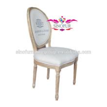 Cadeira de jantar luxuosa louis de alta qualidade