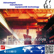 Grue de fonderie de levage de grue en métal chaude de grue