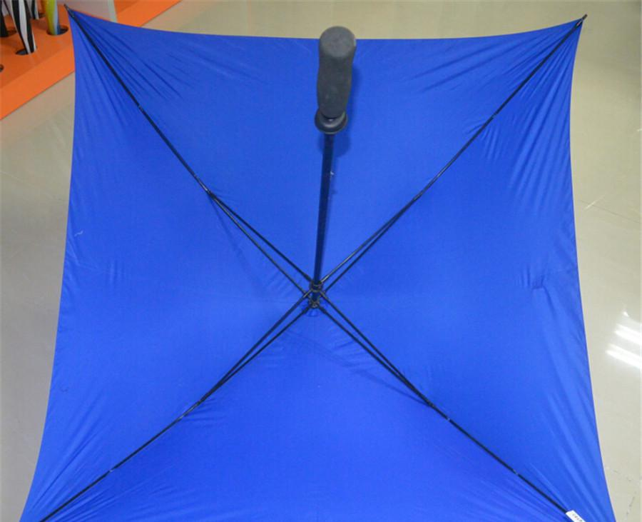 28''Manual Advertising golf fiber square umbrellas02